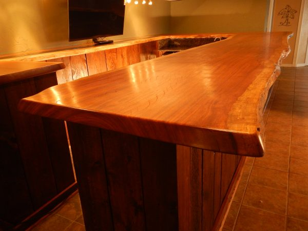 Live Edge Kitchen Counter Top | Vantz Furniture