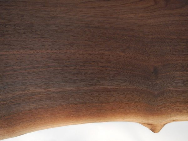 Black Walnut Live Edge End Table