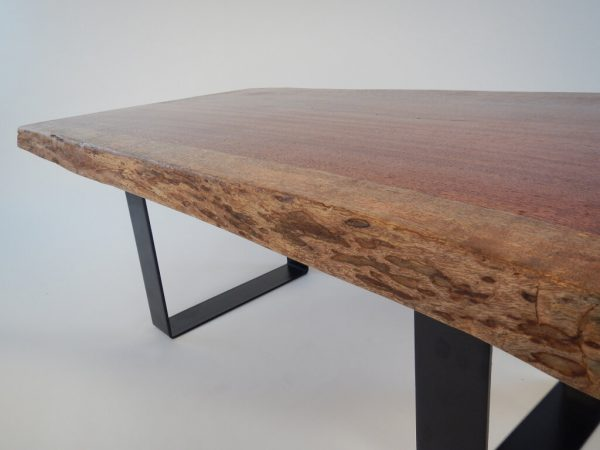 Brazilian Cherry Live Edge Coffee Table